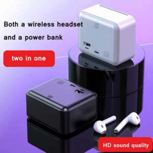 Wireless Earphone (KM-K99) With 10000mAh Charging Box