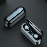 Mini  Wireless Earbuds(F9 With 2000mAh Charging Case)