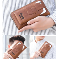 PU Long Leather Wallet