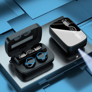 Mini Earbuds With Flash Light